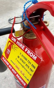 Fire extinguisher Hire